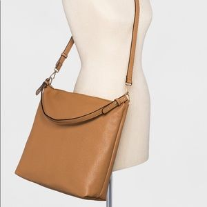 Brown Corasbody Bag with Removable strap
